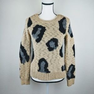 Anthropologie Sweaters - Anthropologie Sleeping on Snow Wool Blend Sweater
